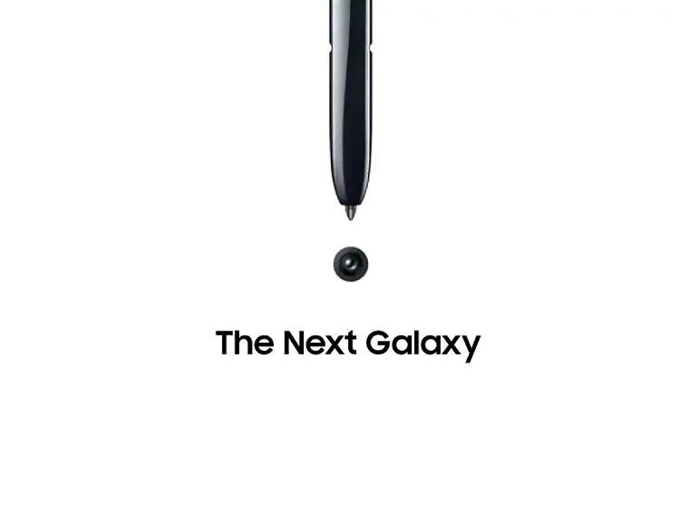 Samsung : le Galaxy Note 10 apparaît en public