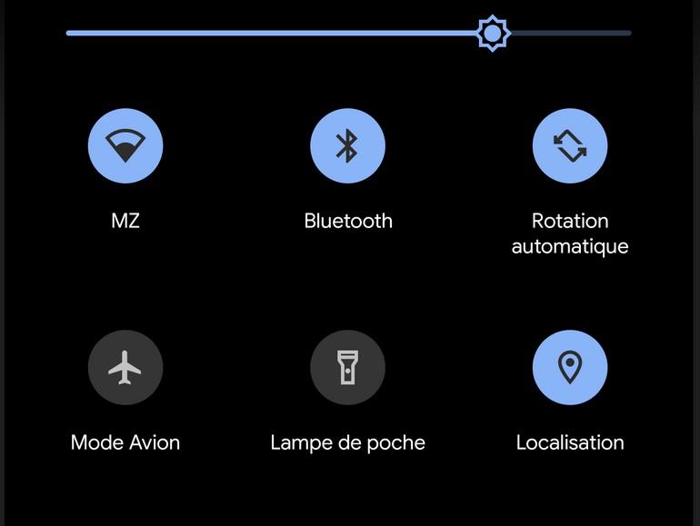 Gmail a droit au mode sombre grâce à Android 10