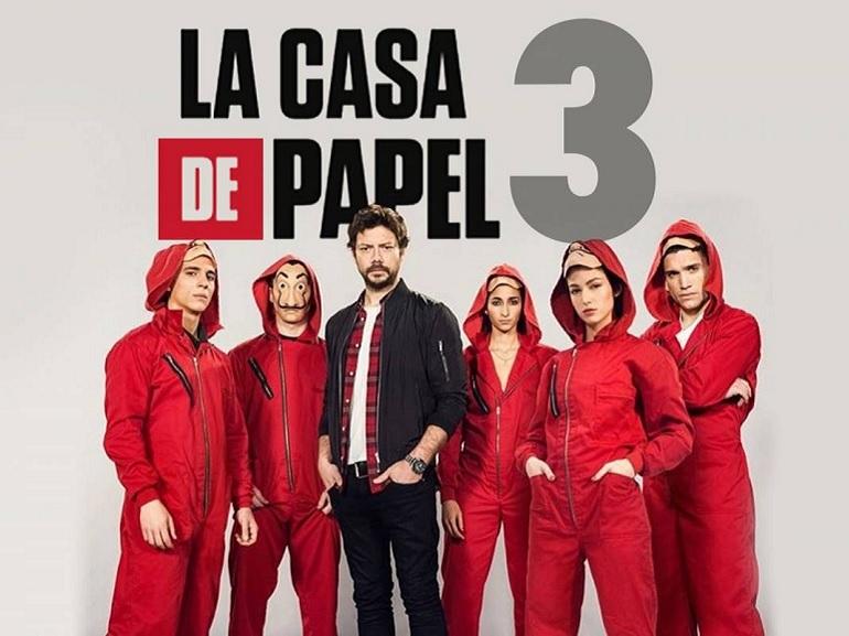 Netflix : démarrage record pour la saison 3 de Casa de Papel