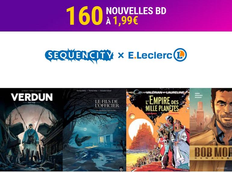 160 bandes dessinées à 1,99€ pour faire le plein de lectures sans se priver