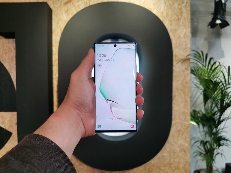 Prise en main - Samsung Galaxy Note 10 et Note 10+ : la tête dans les étoiles