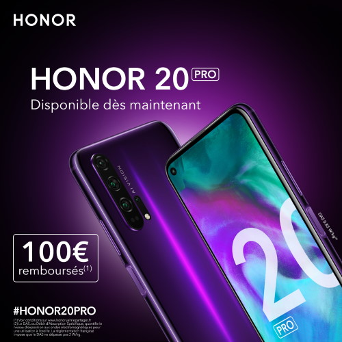 ODR Honor 20 Pro