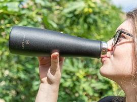 Test – Noerden LIZ : une bouteille intelligente pratique et hygiénique