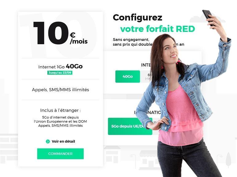 RED by SFR : les vrais bons plans forfaits mobile et Box Internet
