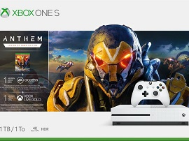 Bon plan : le pack Xbox One S 1 To + Anthem Legion of Dawn à 169,99€ sur boulanger