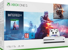 Bon plan : le pack Xbox One S 1 To + Battlefield V + Battlefield 1943 + Battlefield 1 à 179,99€ sur Amazon