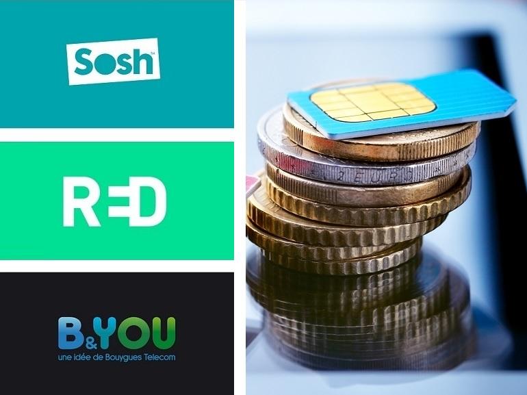 Sosh, RED by SFR ou B&You : quel forfait mobile choisir cette semaine ?