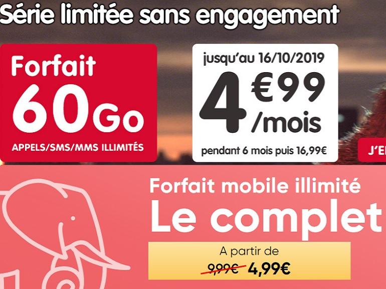 NRJ Mobile vs. Prixtel : le match des forfaits à 5 euros