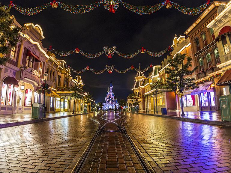 Idée sortie à Paris, Disneyland ou quand la magie de Noël met de grandes oreilles