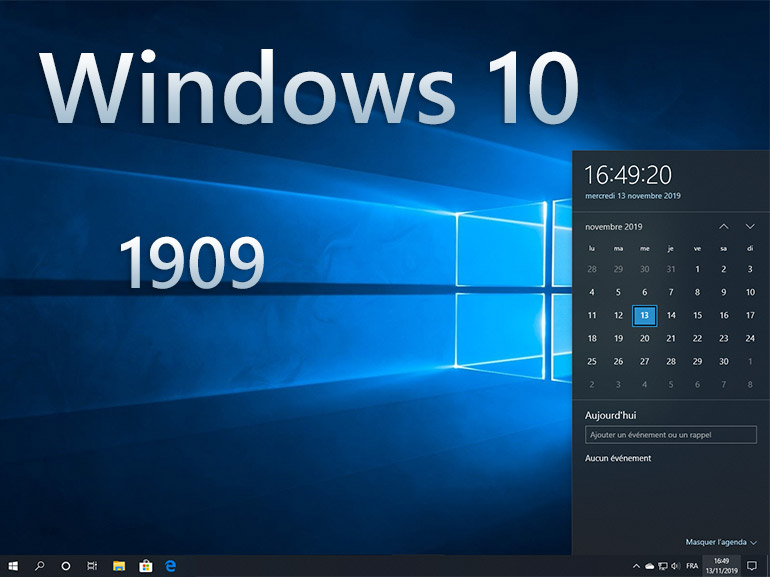 Windows 10 1909 : les nouveautés en images - CNET France