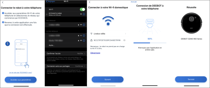 Assistant de connexion
