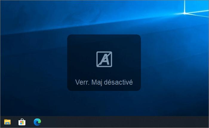 Info sur le bureau Windows