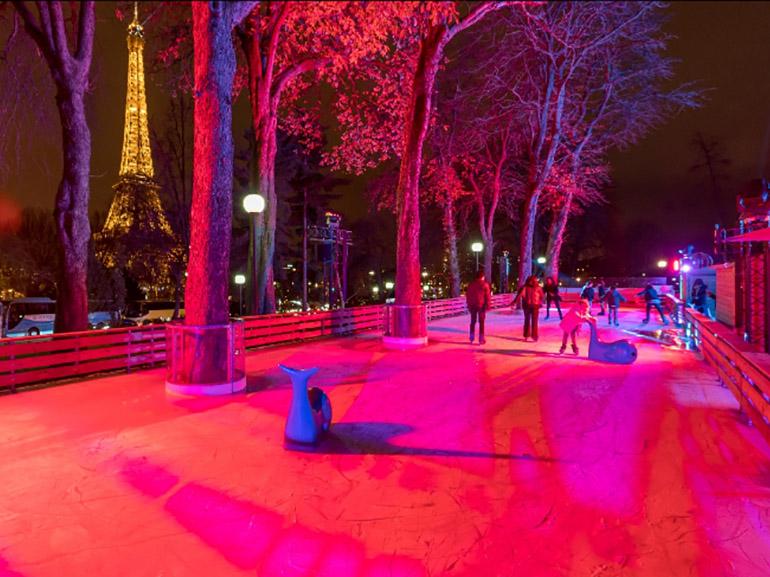 Crédit : La Patinoire des Jardin du Trocadero