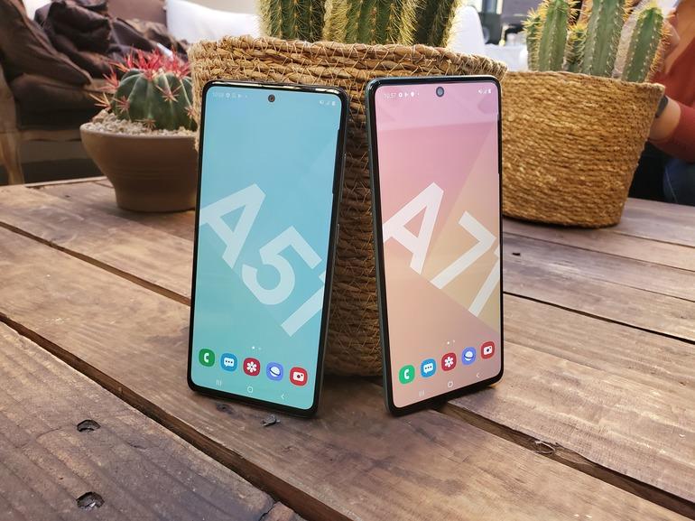 Prise en main des Samsung Galaxy A51 et A71 : le plus grand n'est pas forcément le plus intéressant