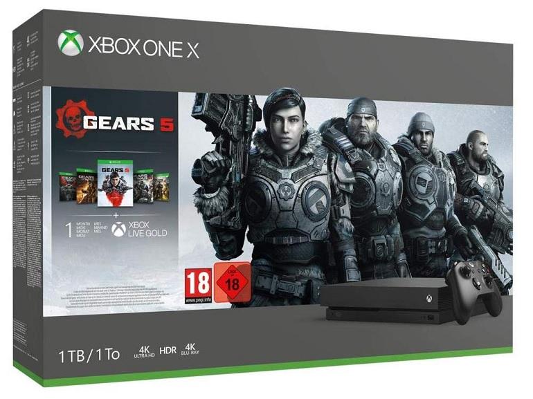 Bon plan : la pack Xbox One X + Gears 5 à 279,99€ au lieu de 499 sur Amazon