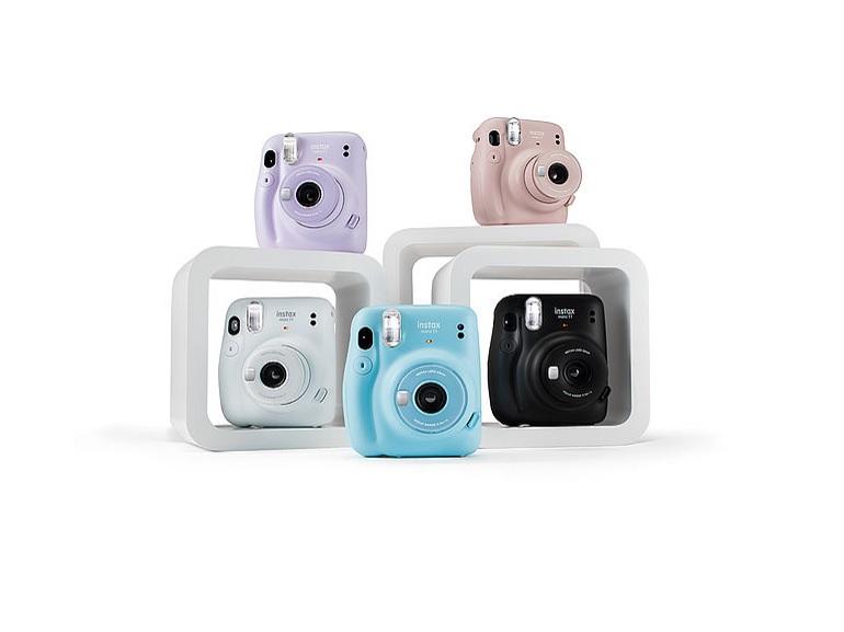 Instax Mini 11 : Fujifilm renouvelle son appareil photo instantané d'entrée de gamme - CNET France
