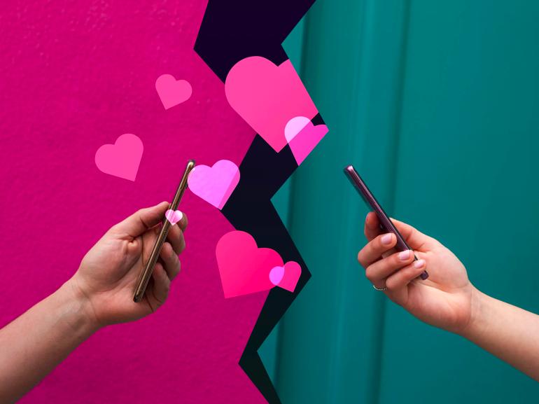 Amour et réseaux sociaux : peut-on draguer sur Linkedin et Tik Tok ? - CNET France