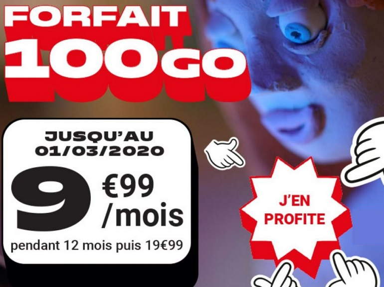 Forfait mobile : la promo 100 Go à 9,99€ de NRJ Mobile prendra fin ce dimanche - CNET France
