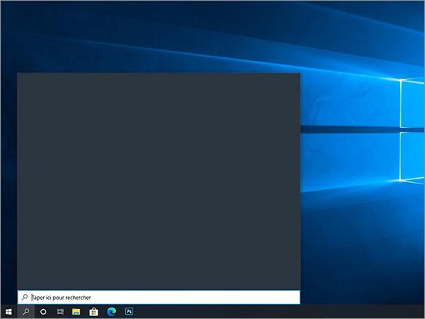 Bug recherche Windows 10