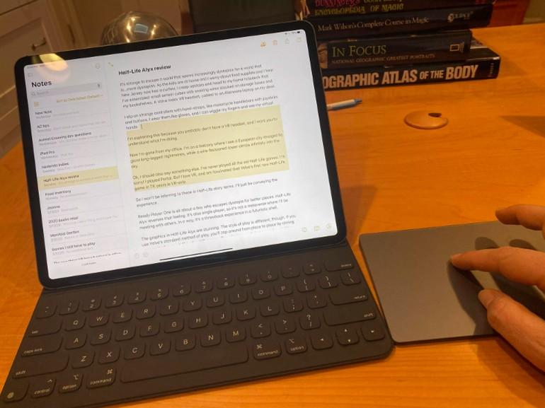 Prise en main de l'iPad Pro 2020 : faut-il craquer ou mettre à jour son iPad ? - CNET France