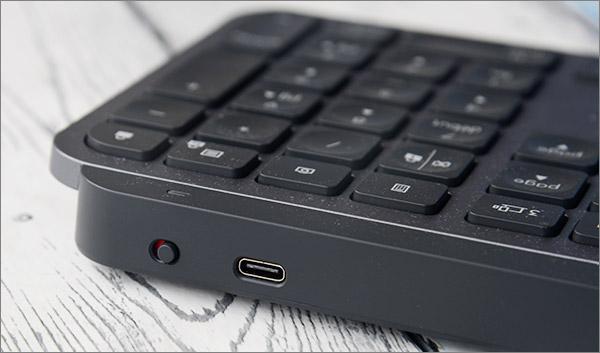 Ports USB et interrupteur