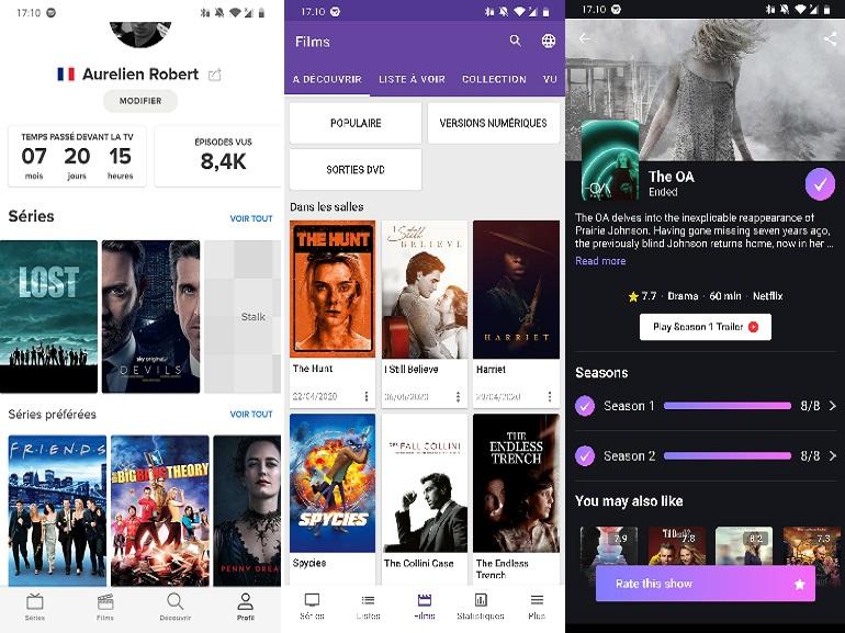 Séries et films : les meilleures applications pour suivre et gérer sa watchlist
