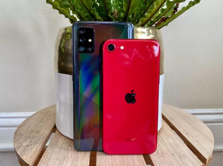 iPhone SE vs. Galaxy A51 : le match photo et vidéo