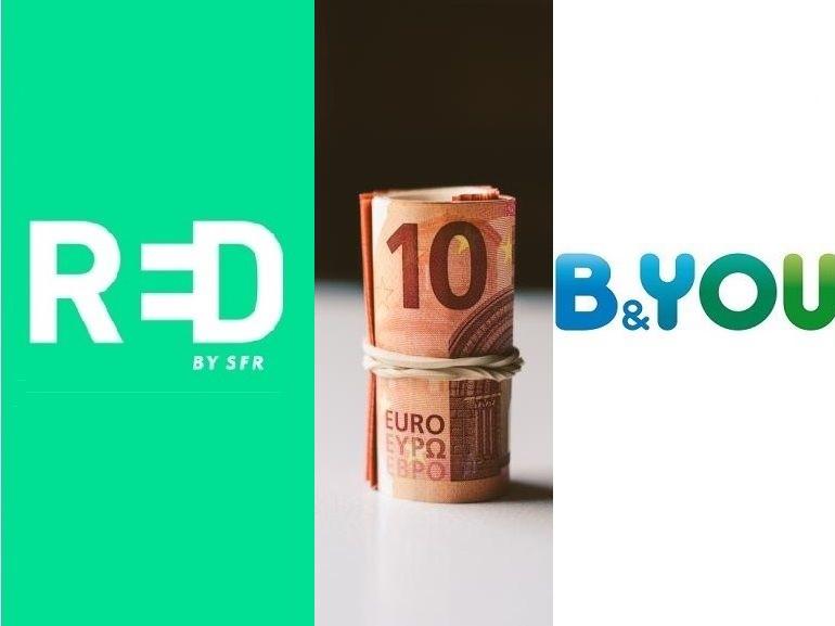 RED by SFR vs B&You : le match des forfaits 60 Go à 12 euros