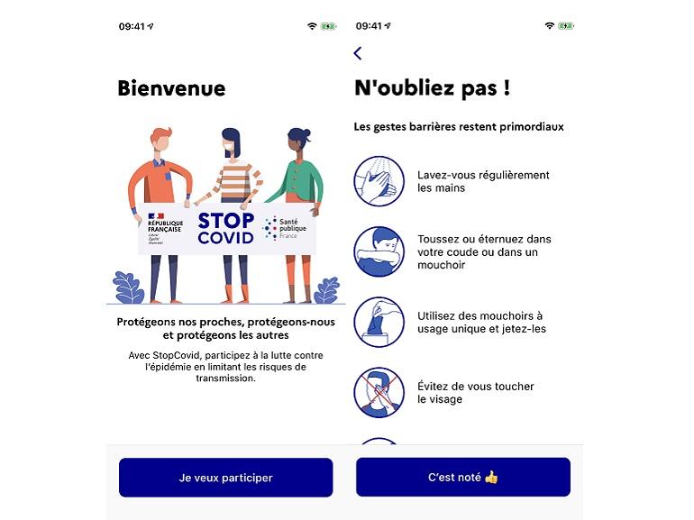 StopCovid : la CNIL donne officiellement son feu vert, découvrez les premières images de l'application - CNET France