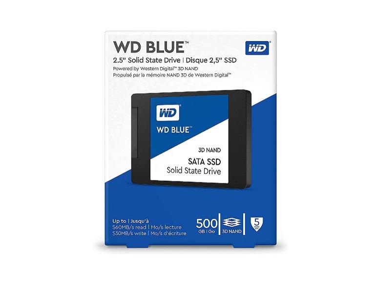 Bon plan : Amazon propose le SSD Western Digital 500 Go (3D NAND) à 56,50€ au lieu de 69,99