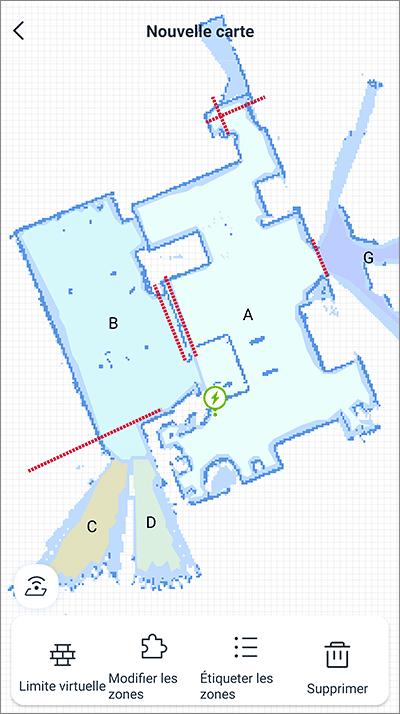 Zones et cartographie