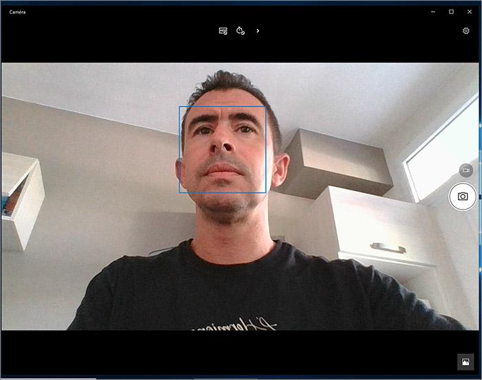 Angle de la webcam