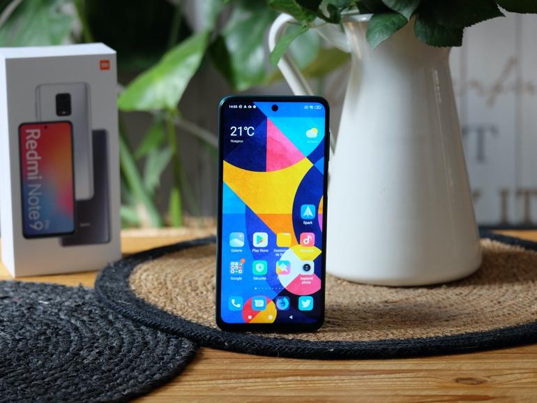 Le smartphone Xiaomi Redmi Note 9 Pro à la loupe