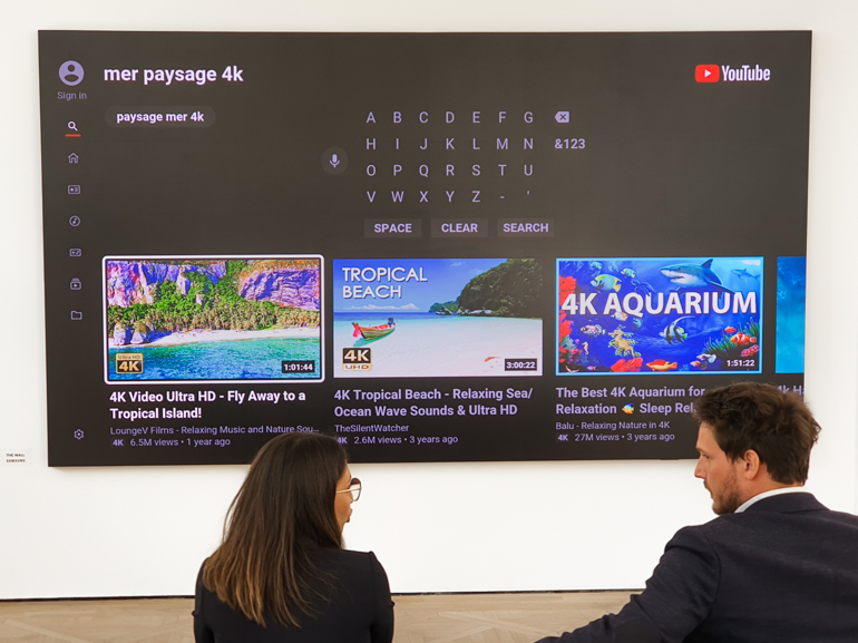 Samsung The Wall for luxury living : on a essayé le TV Micro LED géant à 350000€ - CNET France