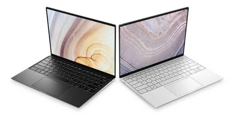 Dell XPS 13 zoom sur les finitions