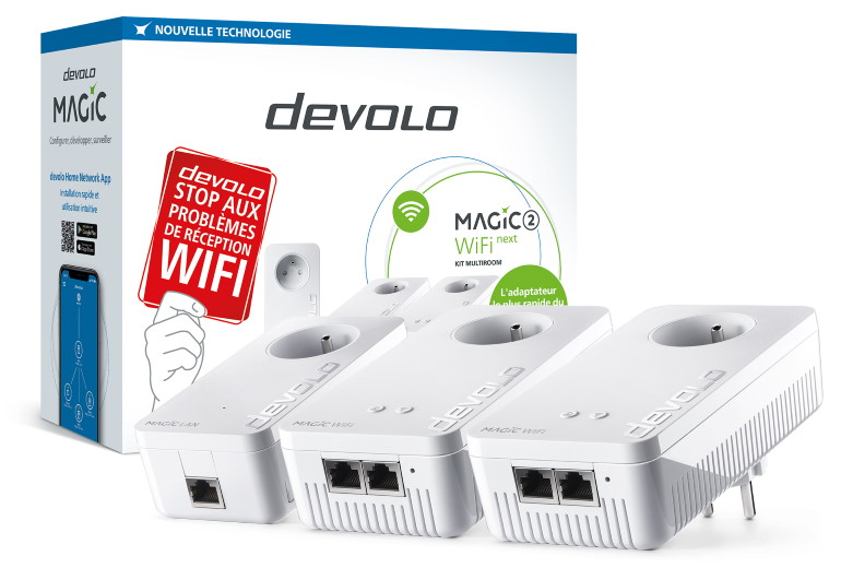 Devolo Magic 2 WiFi Next packshot product