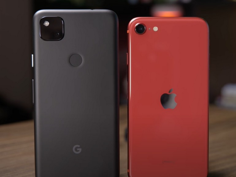 iPhone SE vs. Pixel 4a : le match