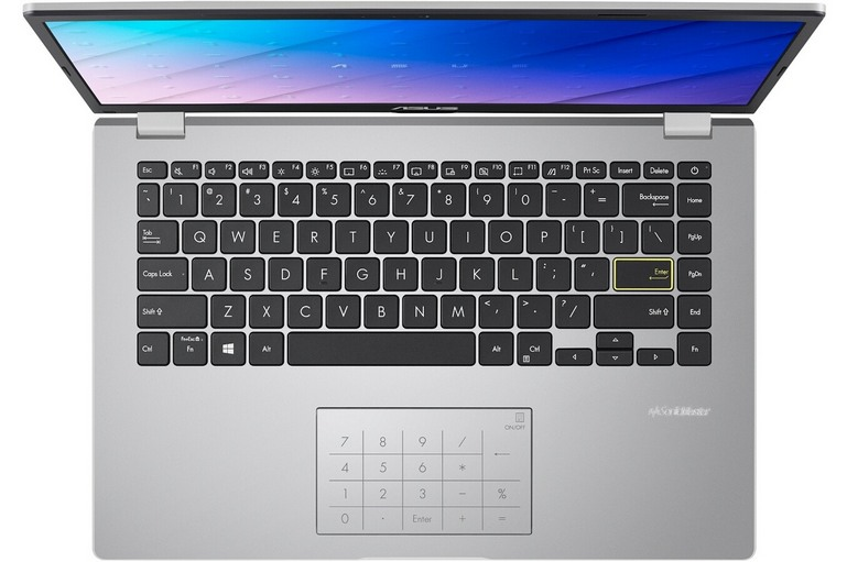 Zoom sur le PC portable Asus E410MA-EK901TS