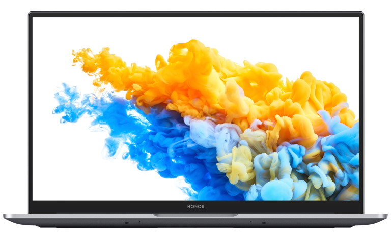 HONOR MagicBook Pro focus sur l'écran 16,1 pouces