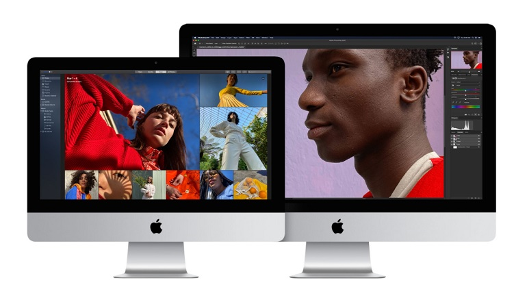 The Apple iMac all-in-one, visual packshot