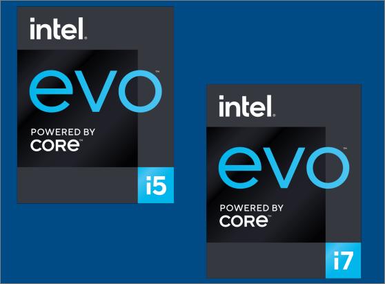 Logo Intel Evo