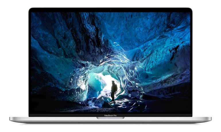 L'ordinateur portable Apple MacBook Pro 16 pouces, visuel packshot