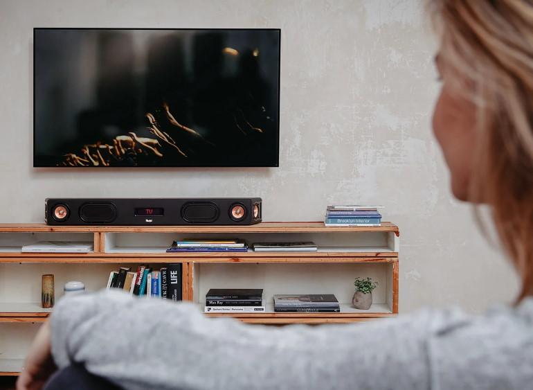 Cinebar Ultima, la barre de son haut de gamme pour TV, musique et jeux à haut niveau.