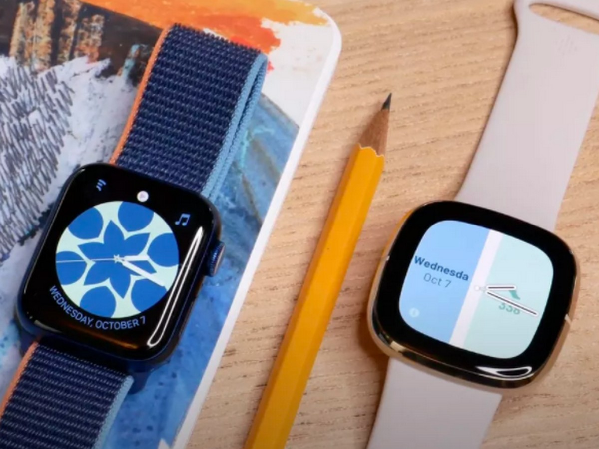 Apple Watch Series 6 vs Fitbit Sense : le match au sommet