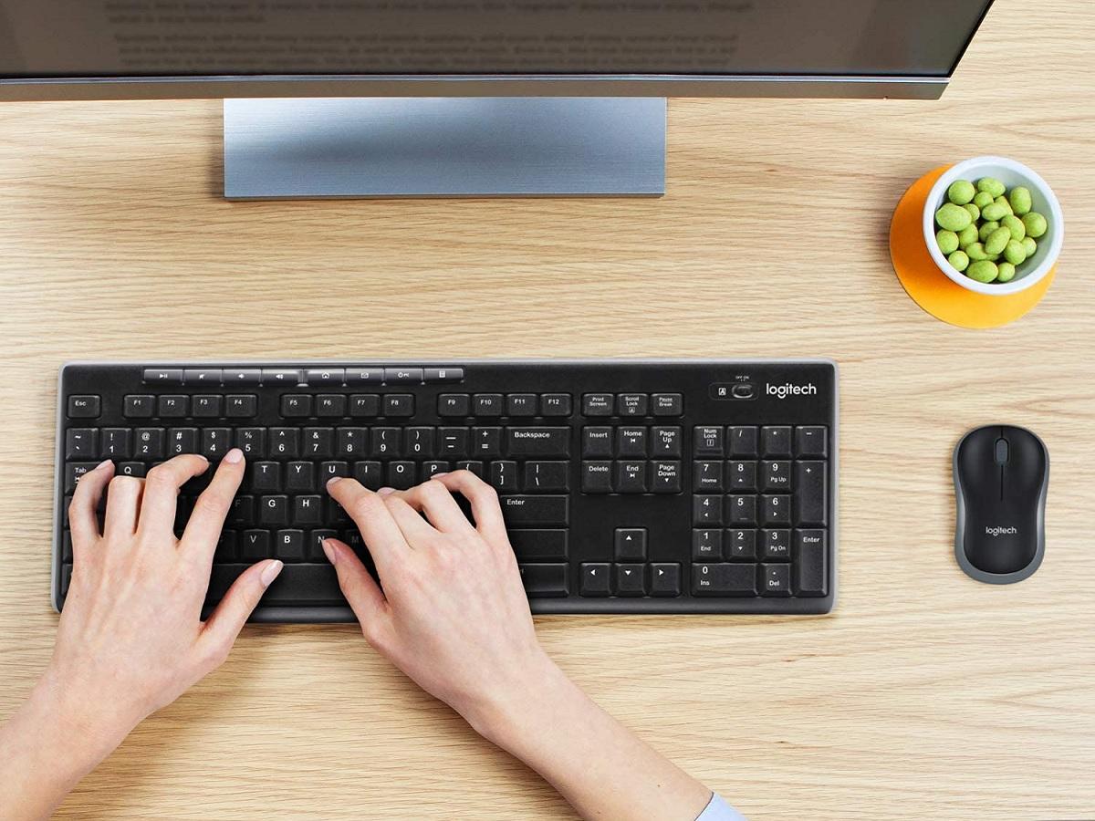 Bon plan : le pack clavier et souris sans fil Logitech MK270 à 19,99€ au lieu de 34,99 sur Amazon