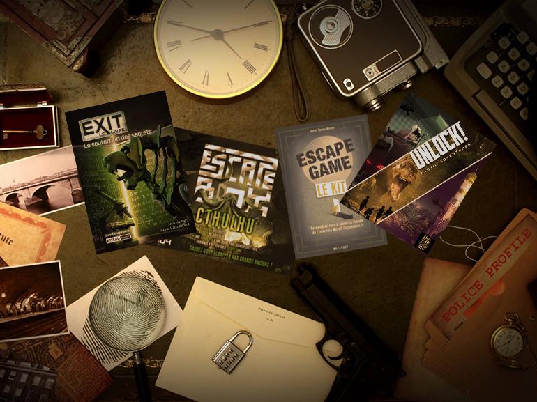 Notre sélection d'escape games à faire à domicile pendant le couvre feu