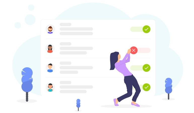 Illustration artistique pour l'offre pCloud famille