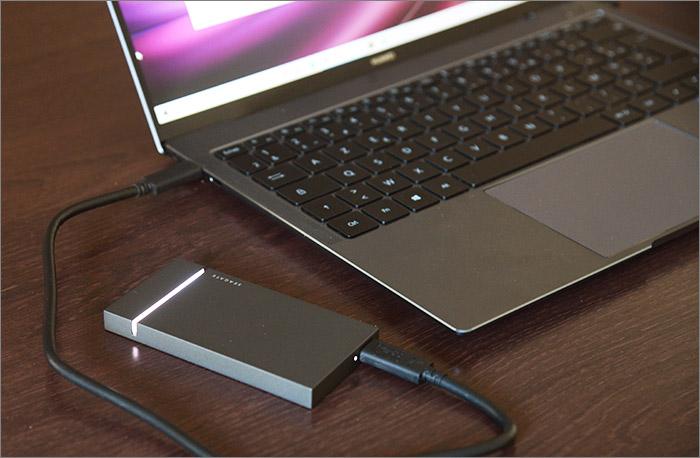 SSD connecté