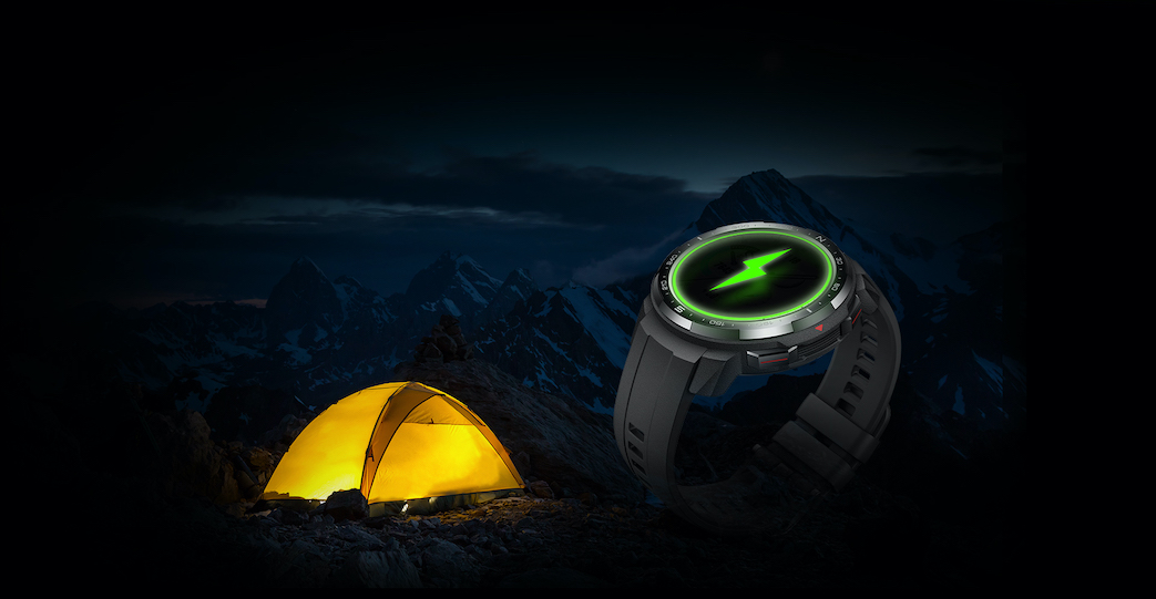 La montre HONOR GS PRO possède une autonomie digne des plus grands.