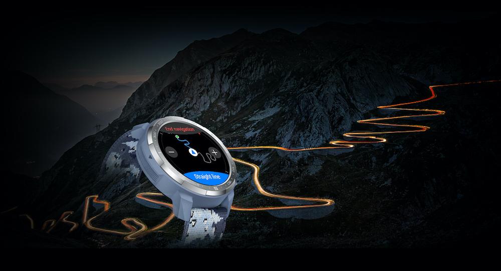 La montre HONOR GS PRO possède la fonction GPS pour nous aider à nous localiser.